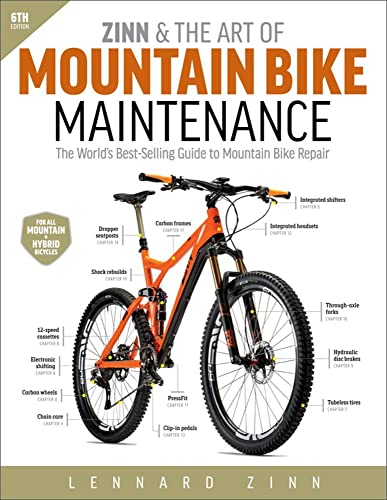 Zinn & the Art of Mountain Bike Maintenance: The World's Best-Selling Guide to Mountain Bike Repair from VeloPress