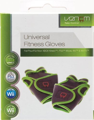 Universal Fitness Gloves (Nintendo Wii/PS3/Xbox 360) from Venom