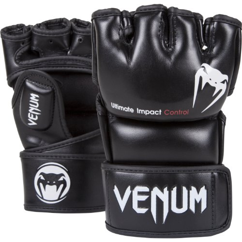 Venum Impact MMA Gloves, Black, Large/X-Large from Venum
