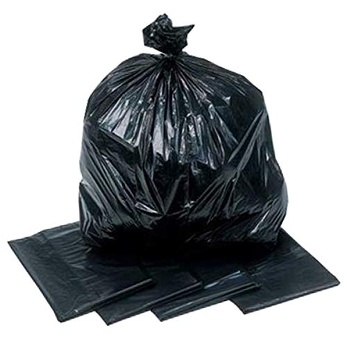 Heavy Duty Black Bin Bags 15 Kilogram Rating Sacks x 200 from Venus