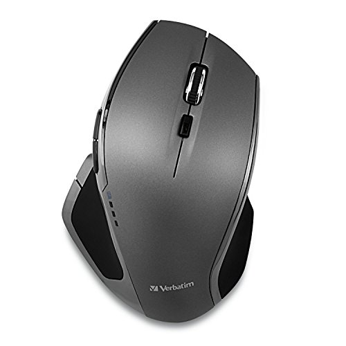 DELUXE Wireless Optical Mouse, Verbatim Gray - 49041 from Verbatim