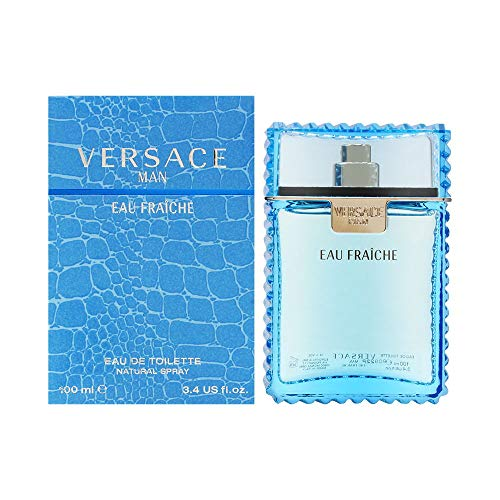 Versace Man Fraiche Eau de Toilette for Men- 100 ml from Versace