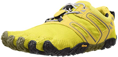 Vibram FiveFingers V-trail, Women's Trail Running Shoes, Yellow (Yellow/Black), 4 UK (37 EU) from Vibram FiveFingers