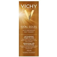Vichy Ideal Solaire Selftan Face and Body Milk 100ml from Vichy