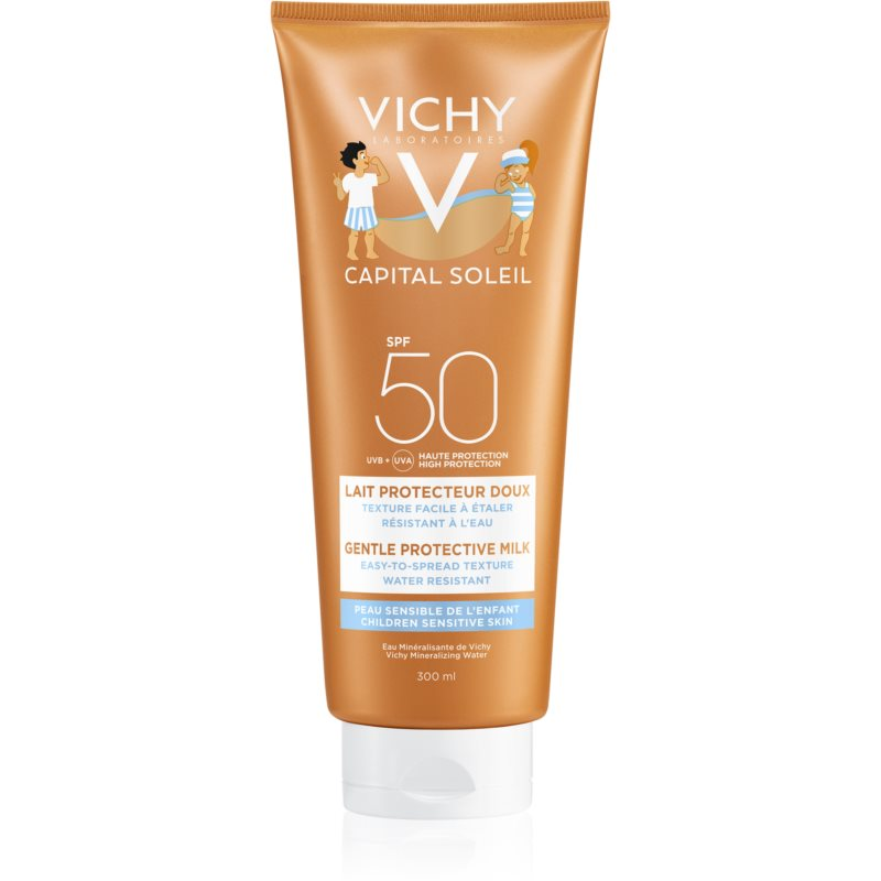 Vichy Idéal Soleil Capital Protective Face and Body Lotion for Kids SPF 50 300 ml from Vichy