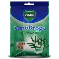 Vicks Eucalyptus VapoDrops Sugar Free from Vicks