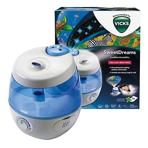 Vicks VUL575 Sweet Dreams Cool Mist Humidifier with Image Projector from Vicks