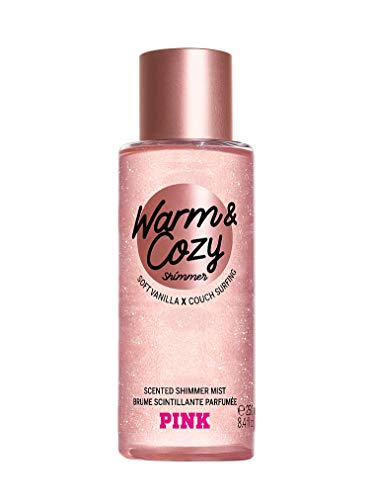 VICTORIA'S SECRET PINK NEW! WARM & COZY SHIMMER BODY MIST 250ml from Victoria's Secret