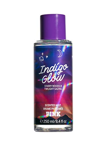 Victoria Secret PINK NEW INDIGO GLOW SCENTED MIST 250ml zfb from Victoria Secret