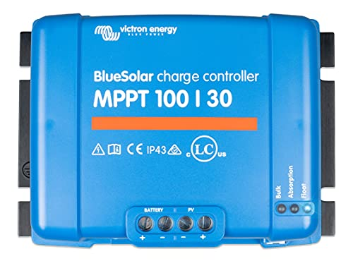 MPPT Solar Charge controller 12V/24V Victron Energy 100/30 from Photonic Universe Ltd - official UK distributor of Victron Energy