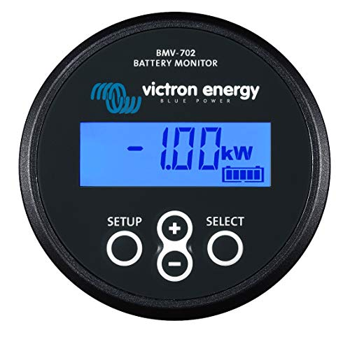 Victron Energy BAM010702200 Battery Monitor BMV-702 Black from Victron Energy