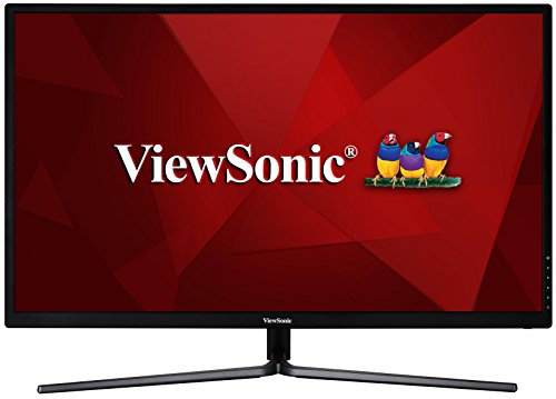 ViewSonic VX3211-MH 32-inch Full HD IPS Entertainment Monitor (1080p, HDMI, VGA, 2x 2.5W Speakers) - Black from ViewSonic