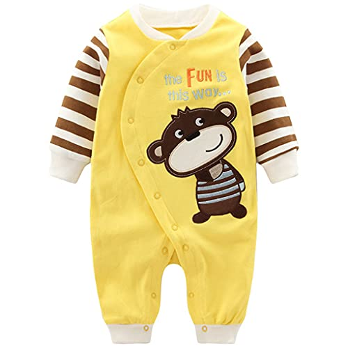 Vine Newborn Girls Boys Cartoon Costumes Baby Outfit Infant Romper Sleepsuit, 0-3 Months from Vine