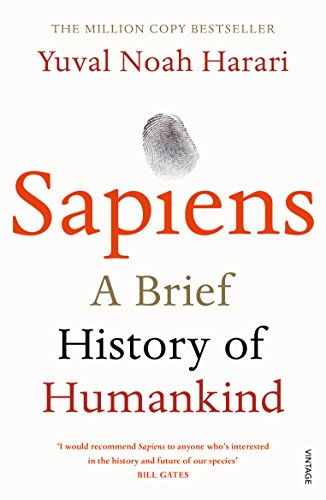Sapiens: A Brief History of Humankind from Vintage