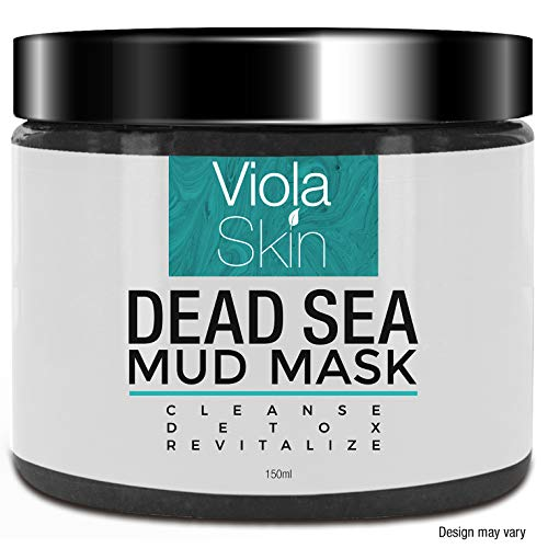 PREMIUM Dead Sea Mud Face Mask - Facial Anti Ageing Blackhead Remover For All Skin Types - Naturally Experience The Best Skin Possible from ViolaSkin