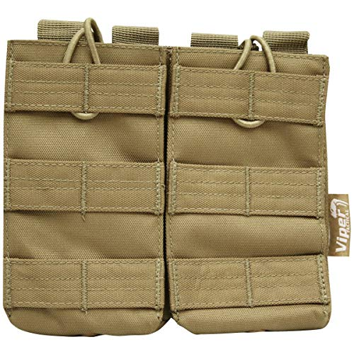 Viper Quick Release Double Mag Pouch Coyote from Viper
