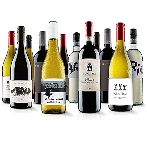 Top Selling Customer Favourites, Mixed Wine Case (Case Of 12) - Virgin Wines from Virgin Wines