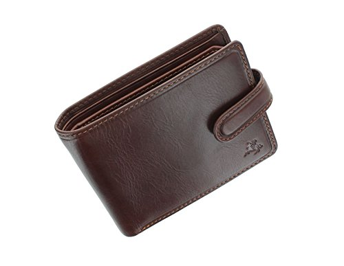 Visconti Tuscany Collection RICCARDO Leather Wallet With RFID Protection TSC47 Tan from Visconti