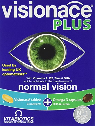 Vitabiotics Visionace Plus - 56 Tablets/Capsules from Visonace