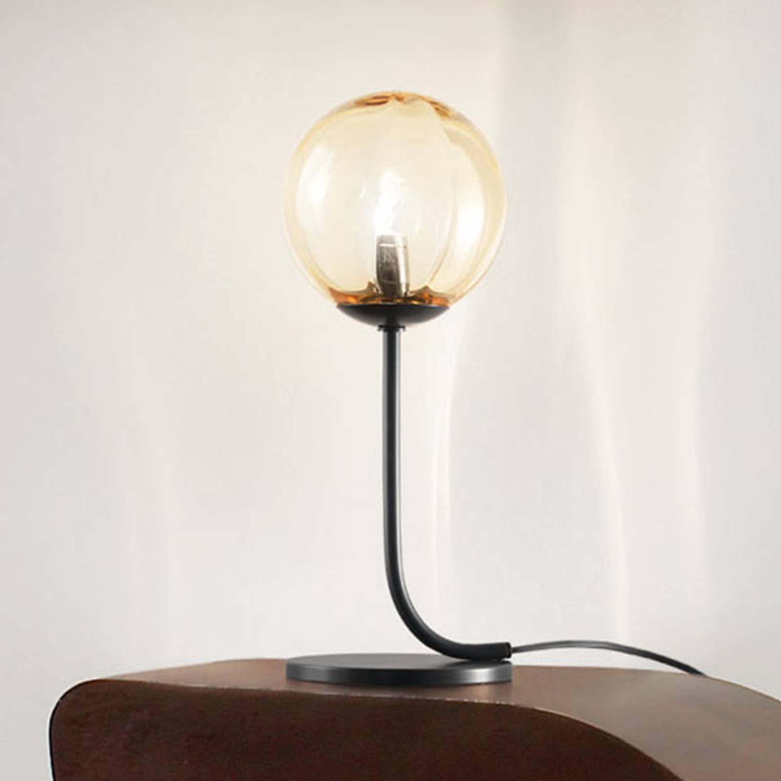 Puppet designer table lamp, Murano glass from Vistosi