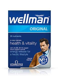 (3 PACK) Vitabiotics Wellman Original Vitamin & Mineral Supplement | 30's | 3 PACK BUNDLE from Vitabiotics