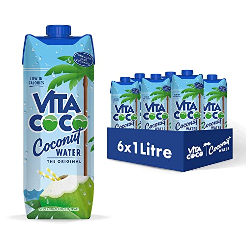 Vitacoco Natural Coconut Water 1 Litre (6 Pack) from Vitacoco