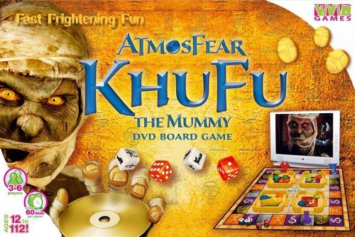 Atmosfear Khufu The Mummy DVD Game from Vivid Imaginations
