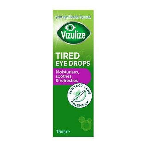 Vizulize Tired Eye Drops, 15ml from Vizulize