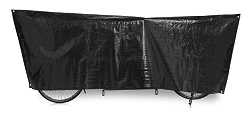 VK International 2260050750 Unisex Adult Bicycle Cover 110 x 300 cm Black from Vk International