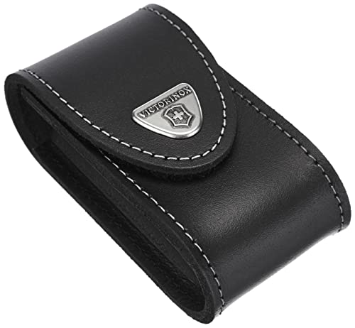 Victorinox Leather Pouch - 5-8 Layer, Black from Victorinox
