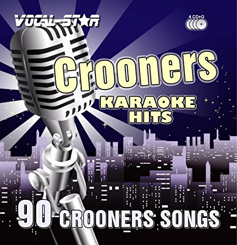 Vocal-Star Karaoke Crooners / Swing Hits CDG CD+G Disc Set - 90 Songs on 4 Discs Including The Best Ever Karaoke Tracks From (Matt Monro ,Dean Martin ,Frank Sinatra and much more)