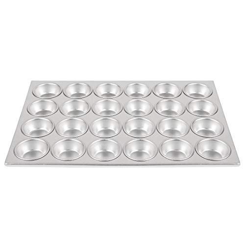 Vogue Aluminium 24 Cup Muffin Tray 36X52cm Serving Platter Commercial from Vogue