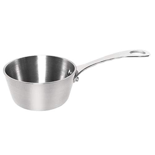 Vogue Mini Saute Pan 80X80X40mm Stainless Steel Frying Kitchen Cookware from Vogue