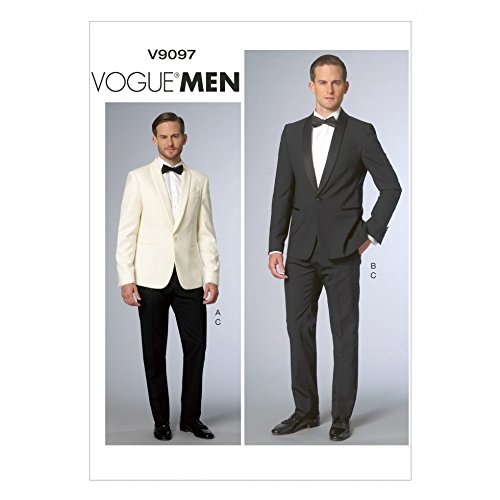 Vogue Mens Sewing Pattern 9097 Jacket & Trouser Pant Suit from Vogue