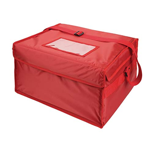 Vogue Nylon Insulated Hot And Cold Pizza Food Delivery Bags 355X380X380mm from Vogue