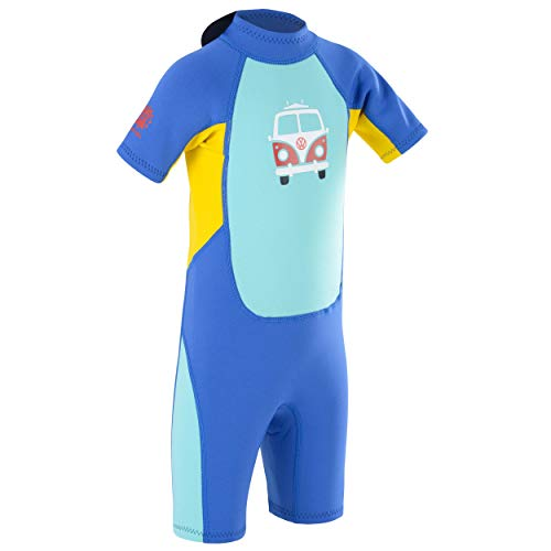 Volkswagen Boys' VW Kids Short 2 mm Wetsuit, Blue, Medium Small from Volkswagen