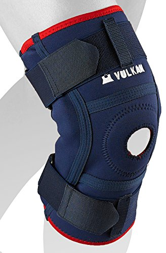 f0afa60416 Vulkan Classic 3071 Hinged Knee Brace with Aerotherm Breathable Lining and  Stabilising Strap - Medium from