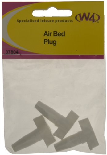 W4 Airbed Plug - White, 3 Pack from W4