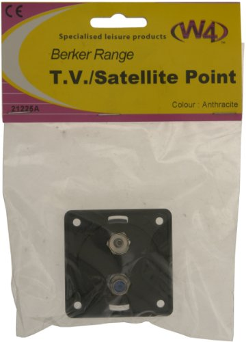 W4 Berker TV/Satellite Point - Anthracite from W4