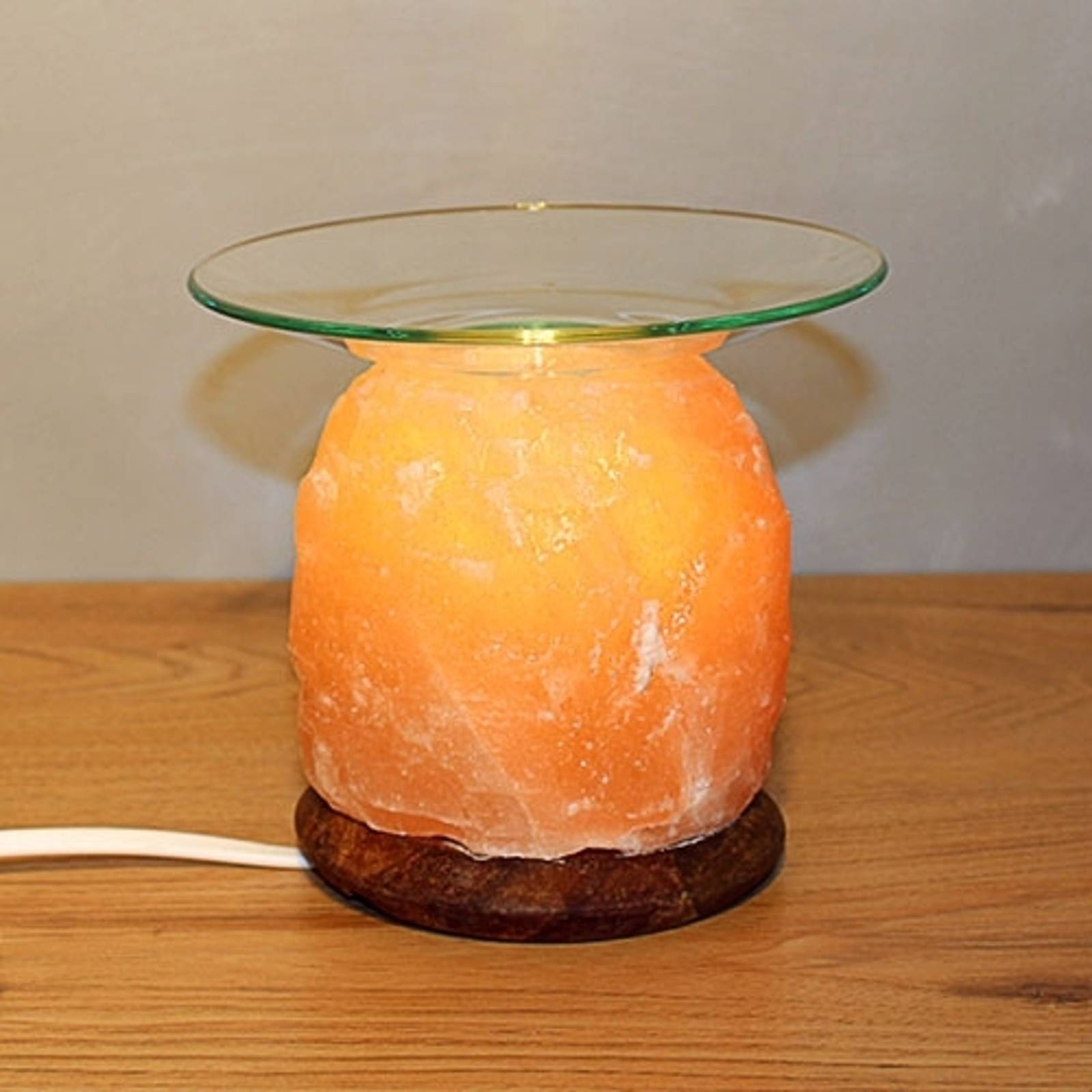 Aroma salt lamp NATURE for atmospheric lighting from WAGNER LIFE
