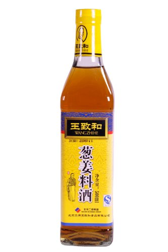 WANGZHIHE Cooking Wine with Shallot & Ginger 500 ml from WANGZHIHE