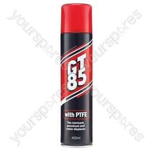 GT85 Multi-Purpose Lubricant with PTFE 400ml - Multipurpose from WD40
