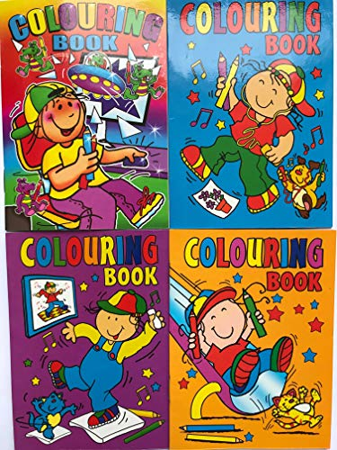 10 x A6 MIXED COLOURING BOOKS from WF Graham