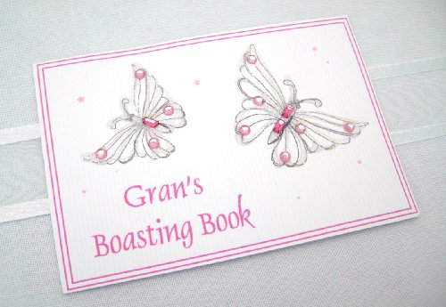 Small Album- Pink Butterfly Gran from WHITE COTTON CARDS