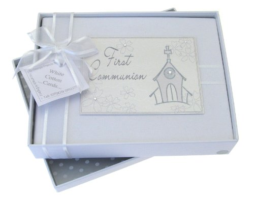 White Cotton Cards First Communion Photo Album, Church from WHITE COTTON CARDS