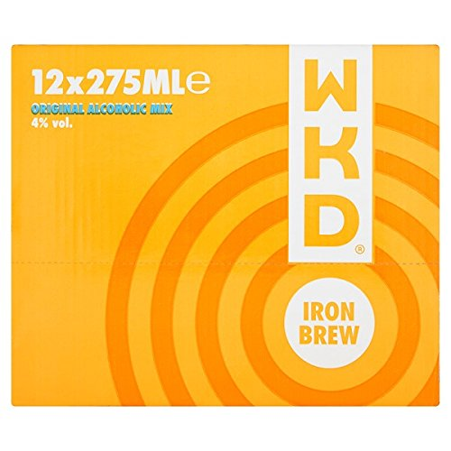 WKD Iron Brew 12 x 275ml (Pack of 12 x 275ml) from WKD