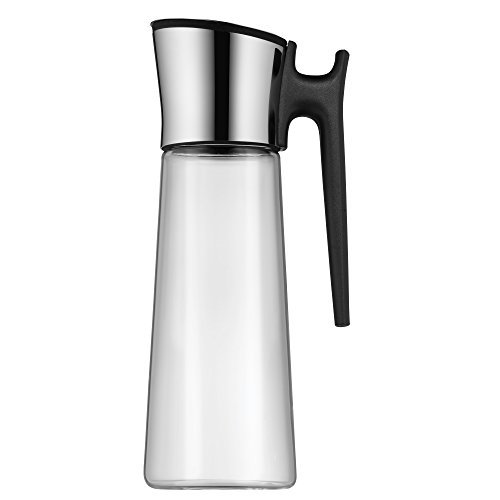 WMF Basic Water Decanter 1.5L Height 31 cm Close-Up Stopper Glass Cromargan® Stainless Steel from WMF