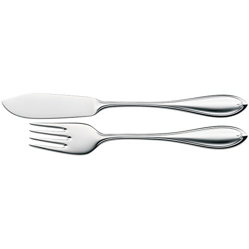 WMF Fish Cutlery Set of 12 Premiere Cromargan Protect Steel Extremely Scratch Resistant Polished from WMF
