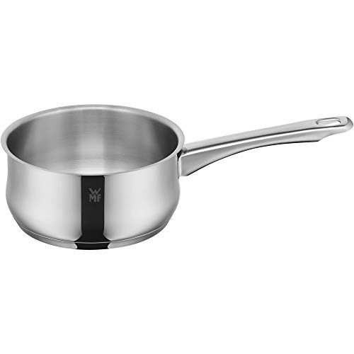 WMF Saucepan Ø 16 cm Approx. 1.5L Diadem Plus Pouring Rim Glass Lid Cromargan® Stainless Steel Polished Suitable for Induction Hobs Dishwasher-Safe from WMF