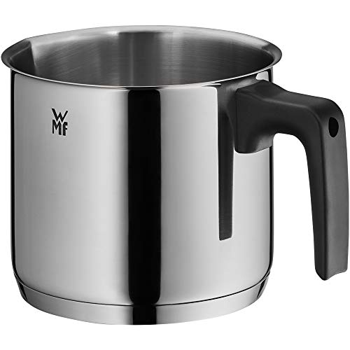 WMF milk pot Ø 14 cm approx. 1,7l pouring rim Cromargan stainless steel brushed suitable for all stove tops including induction dishwasher-safe from WMF